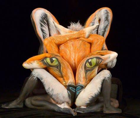 Bildergebnis für body painting animals