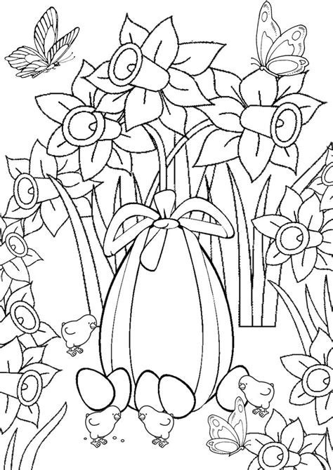 images  easter coloring pages  pinterest