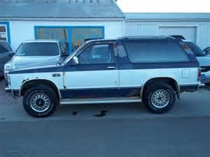 1989 Chevrolet Blazer 1989 Chevrolet S 10 Blazer Overview Cargurus