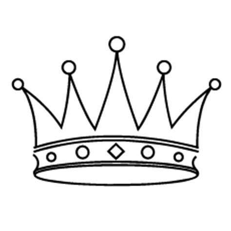 printable simple crown tiara printable clipart best