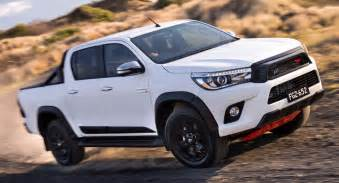 Toyota Hilux 2017 Toyota Hilux Trd Pack Brings Enhanced Look For Australia