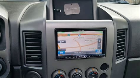 nissan titan dvd player 2006 nissan titan stereo upgrade and retaining the factory