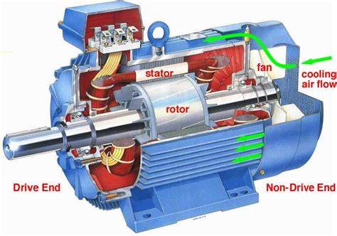 induction motor work on danotes motors load and motor characteristics