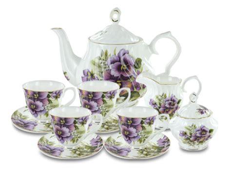 porcelain tea sets englishteastore com