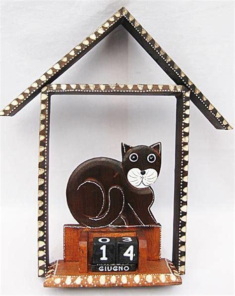 Calendario Perpetuo Shop Calendario Perpetuo Gatto Con Casetta Orologi Calendari