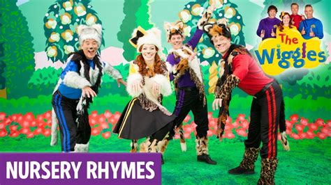 row your boat wiggles the wiggles nursery rhymes three little kittens youtube