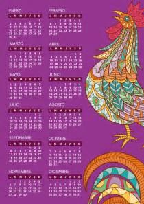 Calendario 2018 Vector Español Calendarios 2017 Para Imprimir Gratis 2017 Calendar