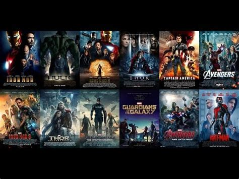 film marvel youtube classifica 12 film marvel youtube
