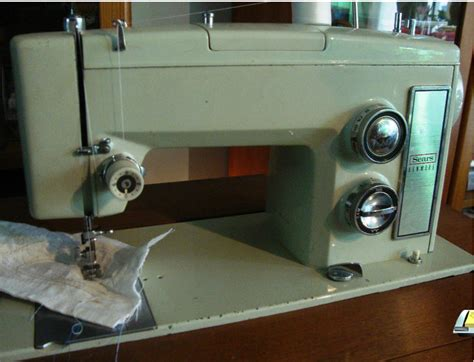 1969 Sears Kenmore 1753 Sold Sewing Machine Pinterest