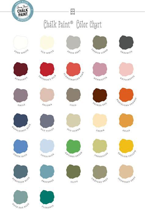 chalk paint 174 decorative paint by sloan color chart