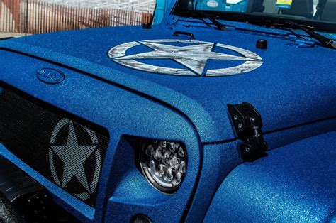 linex jeep blue protective coating spray on bed liner truck accessories