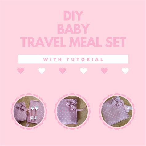 Baby Meal Set diy baby travel meal set with tutorial keeping it real