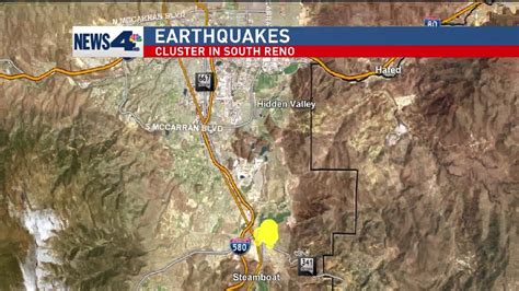 Earthquake Reno | usgs 2 earthquakes shake reno area krxi