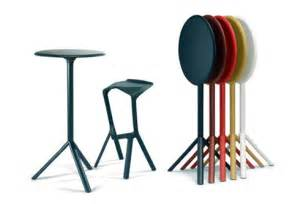 Stackable bar stools amp tables indoor outdoor