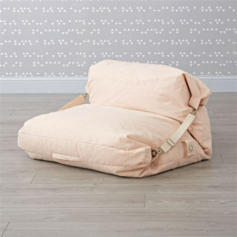 Pink Bean Bag Chair by Pink Bean Bag Bed Chair The Land Of Nod