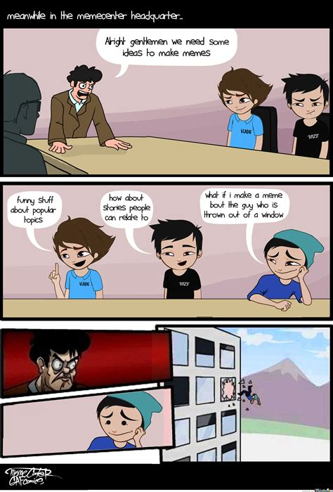 Meme Center - memecenter headquarters by gafcomics meme center