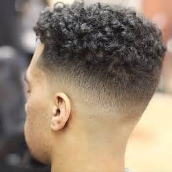 taper fade curly hair taper fade haircut curly hair archives latest men haircuts