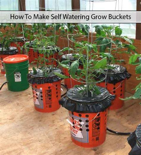Self Watering Planters 5 Gallon Buckets by Diy Self Watering Alaska Grow Buckets The Prepared Page