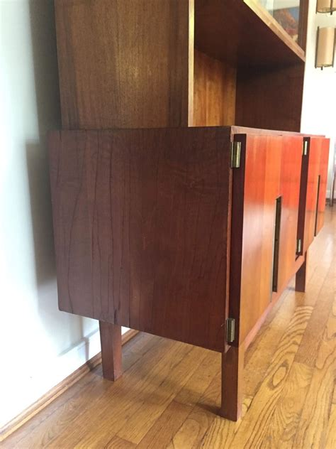 mid century bar cabinet large mid century modern china liquor display storage cabinet