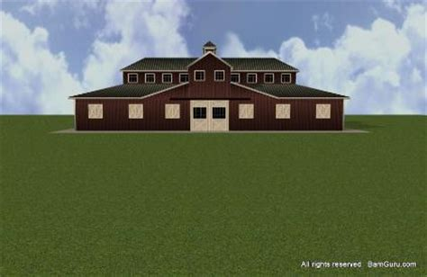 monitor style barn plans plan drawing horse barn plans with arena