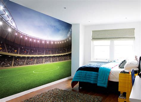 football wall murals for football stadium mural with paste wall murals ireland