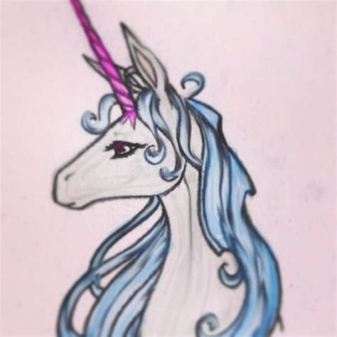 the last unicorn tattoo