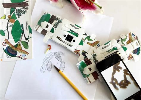 How To Make Gadgets Out Of Paper - how to make a microscope out of paper 28 images