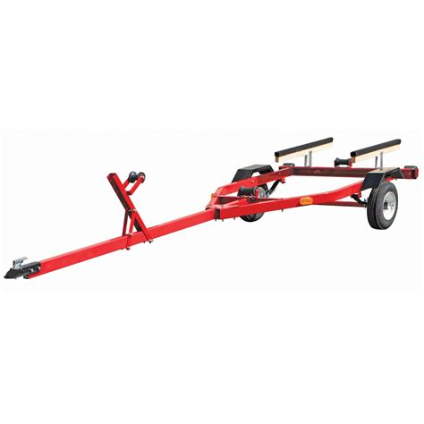 small boat trailer cheap 600 lbs capacity boat trailer my kayak pinterest