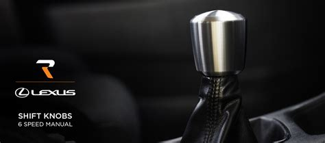 Luxis Shift Knob by Raceseng 6 Speed Manual Lexus Shift Knobs By Product