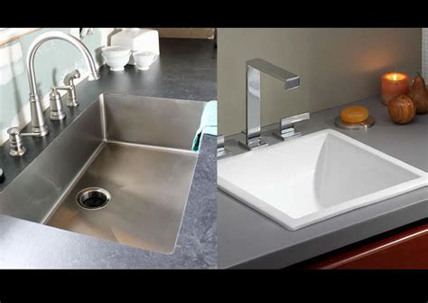 Undermount Vs Drop In Sink Homeverity Com