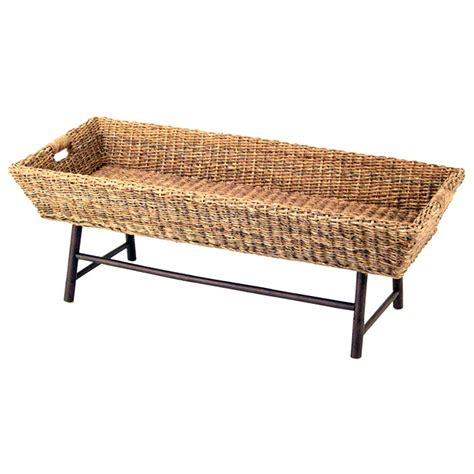 abaca coffee table basket coffee table basket weave abaca dcg stores