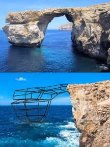 azure window before and after rsr s list of earth s collapsing quot ancient quot features real