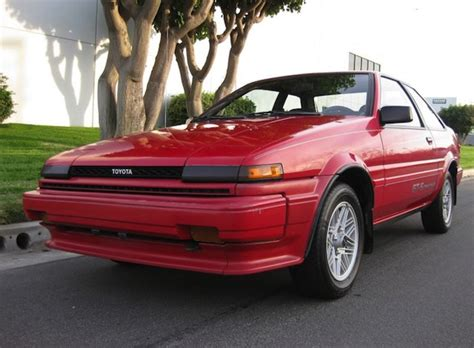 Toyota Corolla Gts For Sale Un Hacked 1987 Toyota Corolla Gt S 16 Bring A