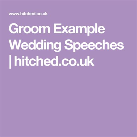 And Grooms Thank You Speech by The 25 Best Groom Speech Exles Ideas On