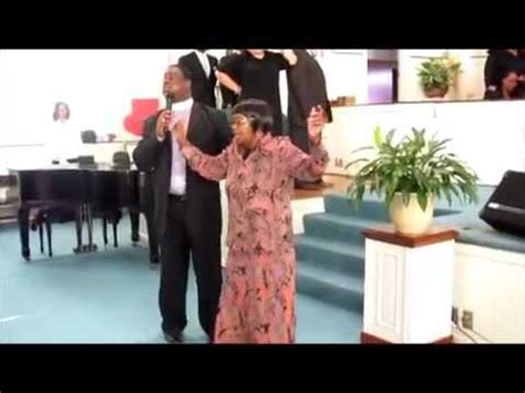 bad church singer preacher man takes microphone from bad singer in church