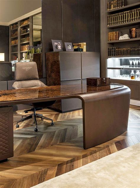 bentley headquarters bentley home president royce desk and elle armchair www