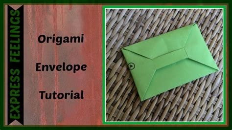 How To Make A Paper Envelope Without Glue - 78 ideas about origami envelope on origami