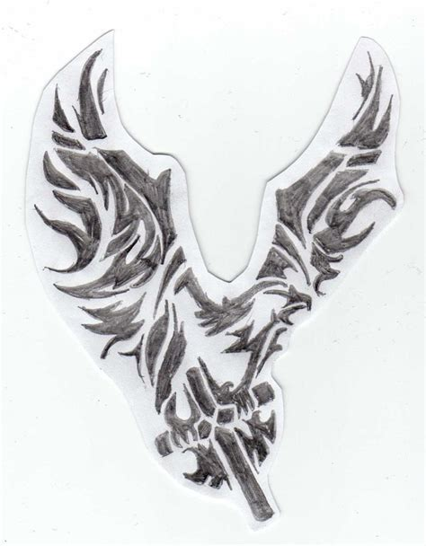 cross with eagle wings tattoo eagle and cross by paigeb123 on deviantart