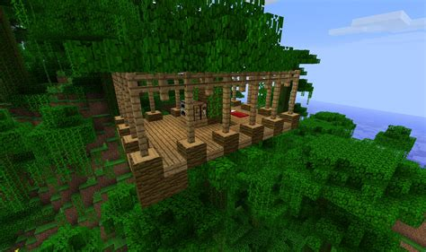 minecraft jungle house designs jungle biome home ideas screenshots show your creation minecraft forum