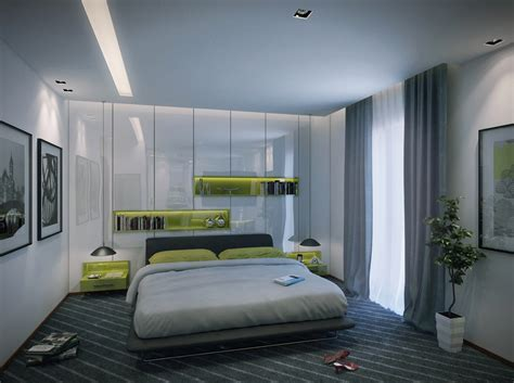 Contemporary Apartment Bedroom Interior Design Ideas Contemporary Room Decor