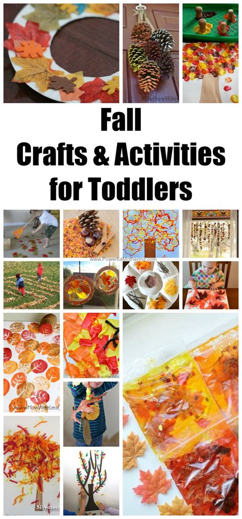 fall craft activities for fall crafts activities for toddlers