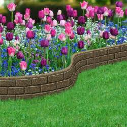 Cheap Backyard Ideas No Grass Recycled Rubber Edging Border Bricks 12m On Sale Fast
