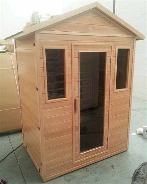 3 person outdoor far infrared sauna sauna tech