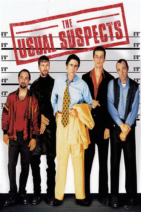 The Usual Suspects 1995 Film The Usual Suspects 1995 Posters The Movie Database Tmdb