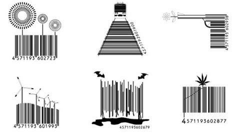 6 barcode tattoo designs samples and ideas
