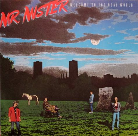 Cd The Rock Master Mister Ahmad Dhani I mr mister welcome to the real world at discogs