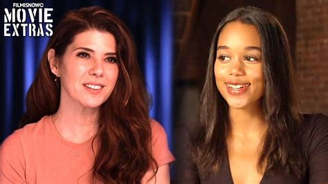laura harrier dancing spider man homecoming on set visit with marisa tomei
