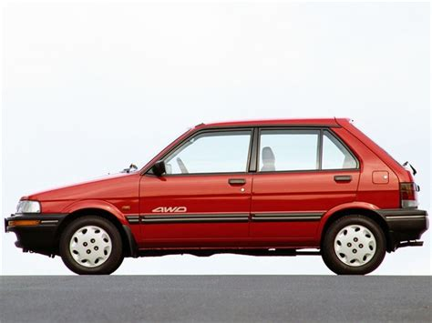 subaru justy subaru justy classic car review honest john