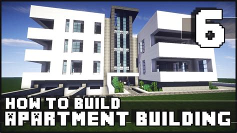how to build a building minecraft how to build modern apartment building