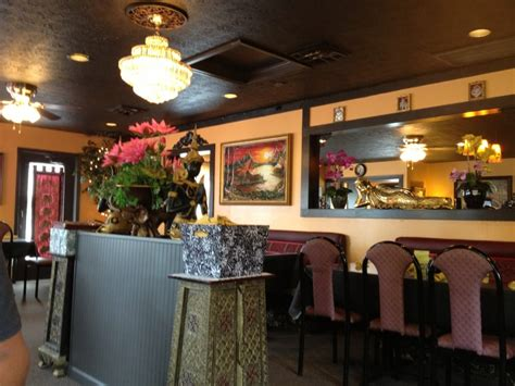 thai house eureka springs main dining area nicely decorated in traditional thai decor yelp